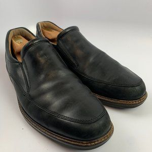 Ecco US 13 UK 46 Men Black Shoes Shock Point Loafe